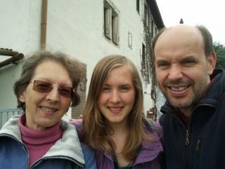 Gernot Gruber mit Familie