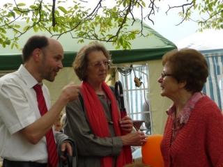 Gernot Gruber mit Frau