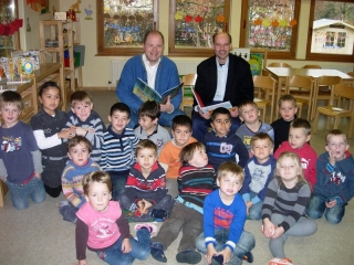 Vorleser im Kindergarten