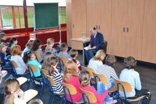 Beim bundesweiten Vorlesetag an der Bürgfeldschule in Welzheim