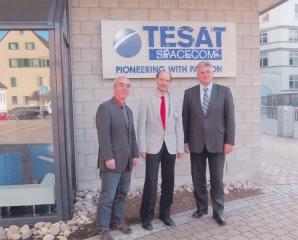 Besuch Tesat