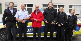 Gernot Gruber im Polizeidienst